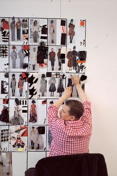 Tate Britain Will Show Intimate Photos Of Alexander McQueen - artnet News Alexander Mcqueen Book, Alexandre Mcqueen, Givenchy, Valentino, Elsa Peretti, Fashion Sketchbook, Fashion Sketches, Fashion Drawings, Carolina Herrera