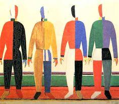 kazimir malevich, russian avant-garde