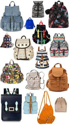 sac à dos shopping