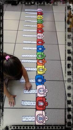πόσο φιλμ θα χρειαστώ ... για το όνομά μου ??? δεινοσαυρο-ονοματάκια !!! Emotions Preschool, Preschool Names, Name Activities, Fall Preschool, Alphabet Activities, Autumn Activities, Preschool Classroom, Classroom Decor, Kindergarten