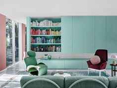 mint green home colour schemes