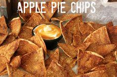 Apple Pie Chips!