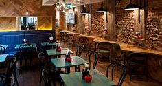 Image result for restaurant interiors gourmet burger Gourmet Burger Kitchen, Gourmet Burgers, Restaurant Interiors, Restaurant Design, Kitchen Interior, Google, Image, Furniture, Home Decor