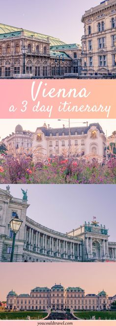 How will you enjoy 3 days in Vienna? Check out our comprehensive guide which will take you on a cultural and musical journey around Austria's amazing capital. Europe Travel Guide, Backpacking Europe, Places To Travel, Travel Destinations, Holiday Destinations, Jaipur, Austria Travel, Culture Travel, European Travel