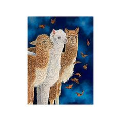 Cute Hipster Llama Collage Poster Paper Print Wall Art Living Room Home Office Decor 18 x 24 -- Want to know more, click on the image.