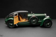 1930 - Bentley Speed Six Blue Train Special