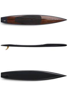 Its true beauty is its performance. - SUP Fishing - Design de Carros e Motocicletas Surf Kayak, Kayak Boats, Wooden Speed Boats, Wooden Boats, Kayaks, Wooden Paddle Boards, Sup Fishing, Vintage Surfboards, Wooden Surfboard