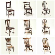 Dining chairs for the sweetheart table from Something Borrowed. We're getting the one in the upper right corner and the middle lower.