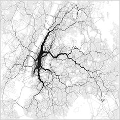 Could Twitter Help Us Create Smarter Transit Routes? Maps by Eric Fischer using geotagged tweets