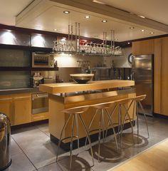 Brown Modern - Contemporary Kitchen