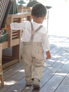 Ensemble #chemise + #pantalon bébé - Collection Printemps été 2014 www.vertbaudet.fr À croquer : reste plus qu'à attendre un mariage ou autre événement pour cette été