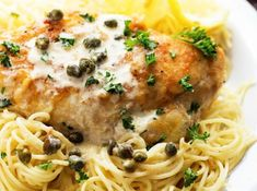 Chicken Piccata- Cheesecake Factory copycat