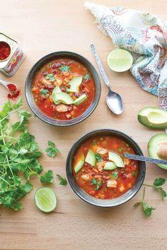 Spicy Shrimp and Chorizo Soup | Paleo Soups & Stews