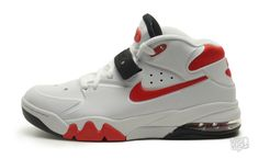 Nike Air Force Max 2013 White/University Red