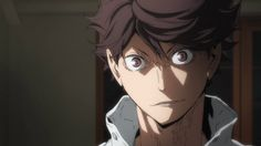 Oikawa's expression changing from super annoyed to fucking beautiful to scary but cool also look at his eyelashes they're so cute 3