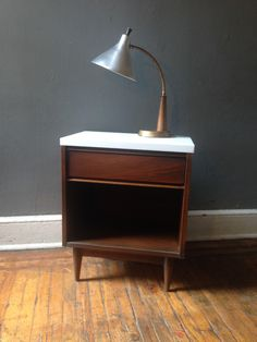 A personal favorite from my Etsy shop https://www.etsy.com/listing/449495930/mid-century-modern-desk-lamp-metal-and
