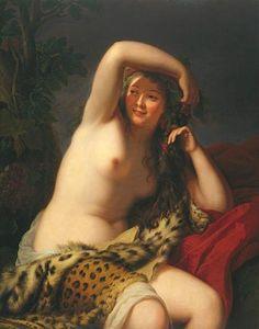 Louise Élisabeth Vigée Le Brun (French, 1755-1842) Bacchante 1785