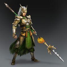 Ma Chao & Weapon (Shu Forces)