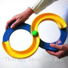 Fine Motor Toys, Games, and Playsets : The Therapy Shoppe, The extraordinary little specialty shoppe for school and pediatric therapists, teachers and parents too.  This is a great toy for kids who need practice crossing midline