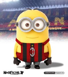 #Soccer #minion #NoOficial #LigraficaMX #Milan