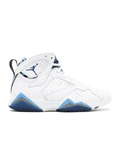 purchase cheap f62fb 66a66 ... authentic air jordan 7 retro french blue wht frnch bl unvrsty bl flnt g  304775 107