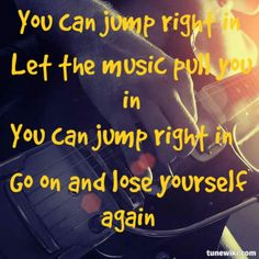 """Jump Right In"" lyrics by Zac Brown Band Music Love, Music Is Life, Love Songs, Music Music, Music Stuff, Live Music, Fun Stuff, Country Music Lyrics, Country Music Singers"