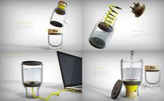 USB接口的咖啡机:Daily Addiction