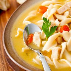 On an extra chilly day, warm yourself up with a steaming bowl of soup. For starters, it may help rel... - Getty Images