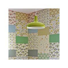 Papier peint *patchwork light* - Mini labo édité par The Collection