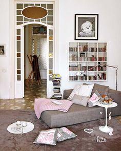 Una antigua editorial transformada en vivienda