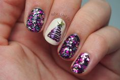 Kelsie's Nail Files: Winter Nail Art Challenge: Christmas Tree