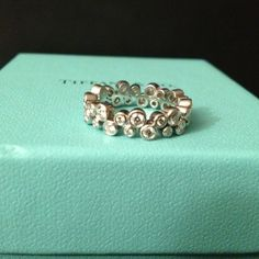 Tiffany & Co. Jewelry - Platinum and Diamond Tiffany Bubbles Ring 4