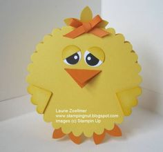 Punch Art Easter Chick