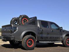 Dark Rider Ford Raptor Raptor Truck, Svt Raptor, Ford Raptor, Ford Svt, Ford Bronco, Cool Trucks, Cool Cars, Ford Harley Davidson, Raptor Toys