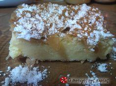 Bougatsa with cream Greek Sweets, Greek Desserts, Greek Recipes, Pastry Recipes, Cookbook Recipes, Cooking Recipes, Cyprus Food, Greek Cooking, Greek Dishes