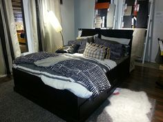 Ikea Fjell bed,  king $699