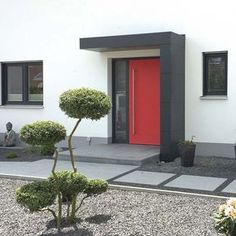 Eingangsüberdachung, Haustürvordach, Haustürüberdachung von siebau