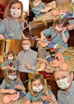 """G-tube doll """"surgery"""" to help a sibling understand her brother's experience. taylorsjourneyblog"""