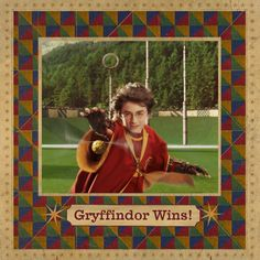 Gryffindor Wins! #harrypotter #harrypotterquotes #danielradcliffe