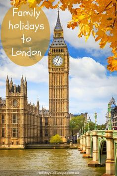 Family holidays to London // Click to read tips and ideas for a family vacation in London including what to see and do and child-friendly activities.