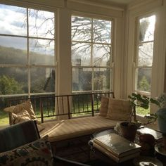 They said that I could come on the trip under one condition. So, I need your help because I desperately want to meet Ben Pentreath! Memo to God: Please. Ben Pentreath, Cosy Home, English Interior, English House, English Style, Bay Window, Window View, Window Seats, White Houses