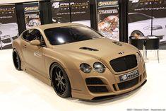 Bentley Continental Prior Designs