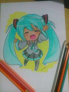 Ilustração chibi anime mangá -Edi santos chibi anime manga illustration- Edi santos