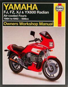 Haynes M2100 Repair Manual for 1984-90 Yamaha FJ600 / FZ600 / XJ600 / YX600