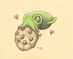 Cookie Squid by *MegLyman on deviantART