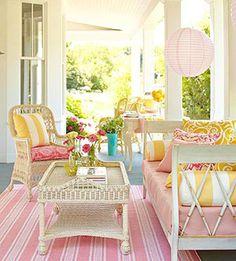 bright porch