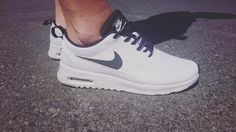 """""""New spoils from babe  #nike #airmaxthea"""""""