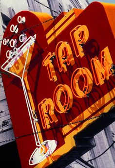 Neon Sign for Tap Room Bar