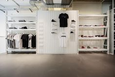 Solebox Opens New Location in Berlin: A little over a year ago we turned our eye on Solebox Berlin for an edition of HYPEBEAST Spaces. Sneaker Stores, Berlin, Closet, House, Shopping, Home Decor, Retail, Concept, Space