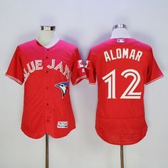 0dfcf33d0 2016 Toronto Blue Jays 12 Roberto Alomar Red Flexbase Authentic Collection  Canada Day Stitched Baseball Jerseycheap